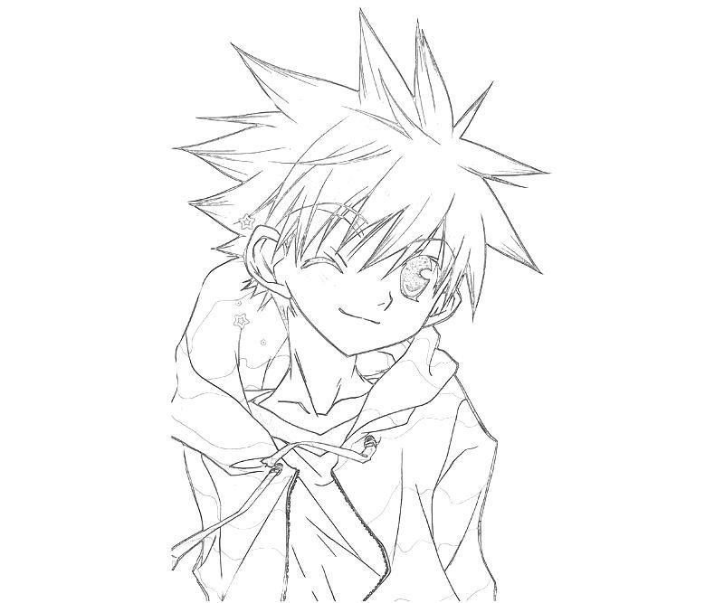 printable-daisuke-niwa-character_coloring-pages-2