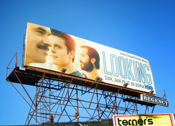Looking series premiere HBO billboard