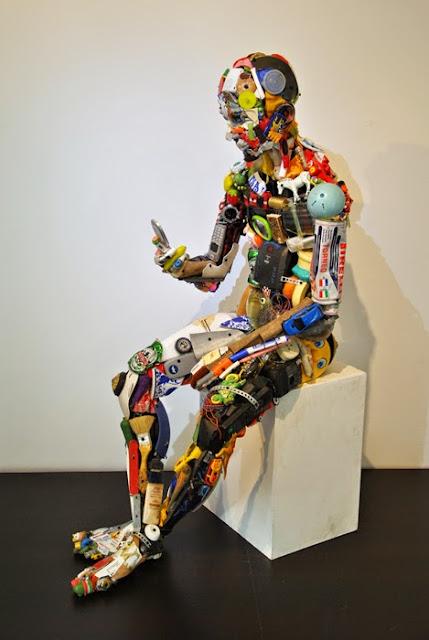 Dario Tironi και Koji Yoshida: Δημιουργίες από παλιά άχρηστα πράγματα