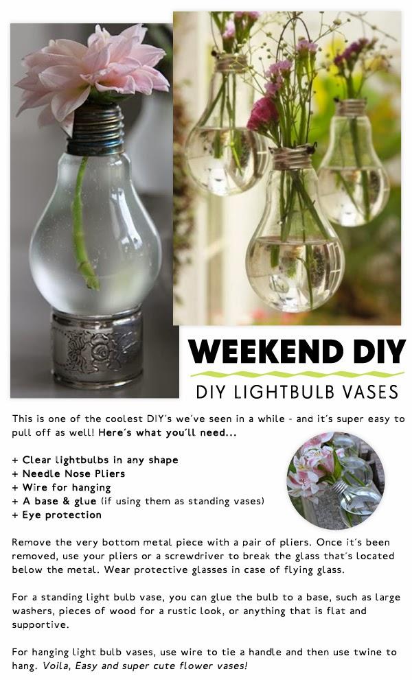 Market Hq Blog Diy Lightbulb Vases