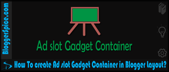 ad slot gadget container