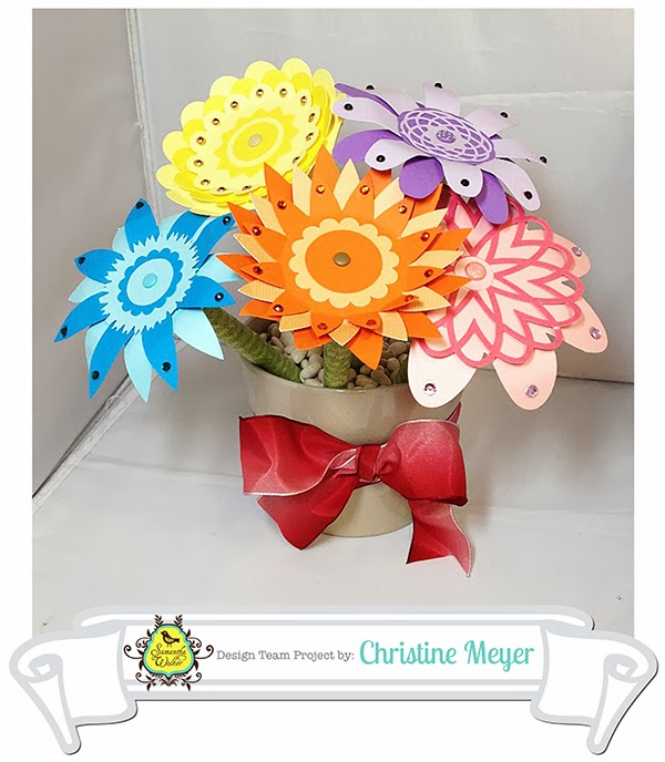 Samantha walkers imaginary world flower pen tutorial by christine today i am going to show you how i turned these flowers into pens i have them displayed here in a flower pot mightylinksfo