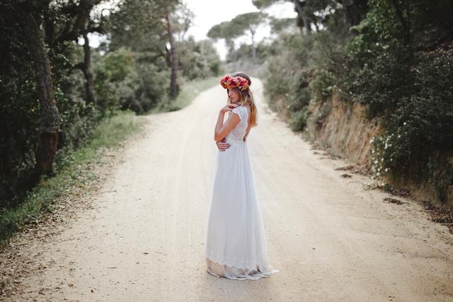 Novia en una cabaña de cuento | A todo Confetti - Blog de BODAS y ...