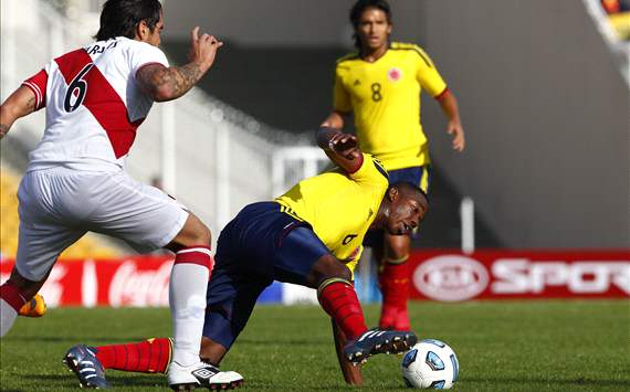 World Cup Qualifier 2014 - Colombia vs Peru