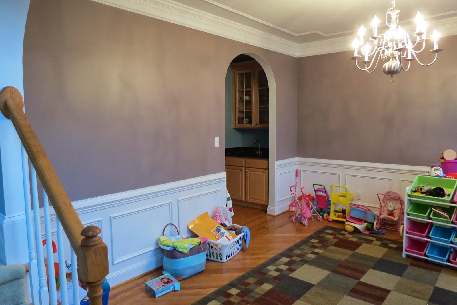 dining room used as playroom formal dining room to functional the owner s used their dining room as a playroom for their young daughters they did