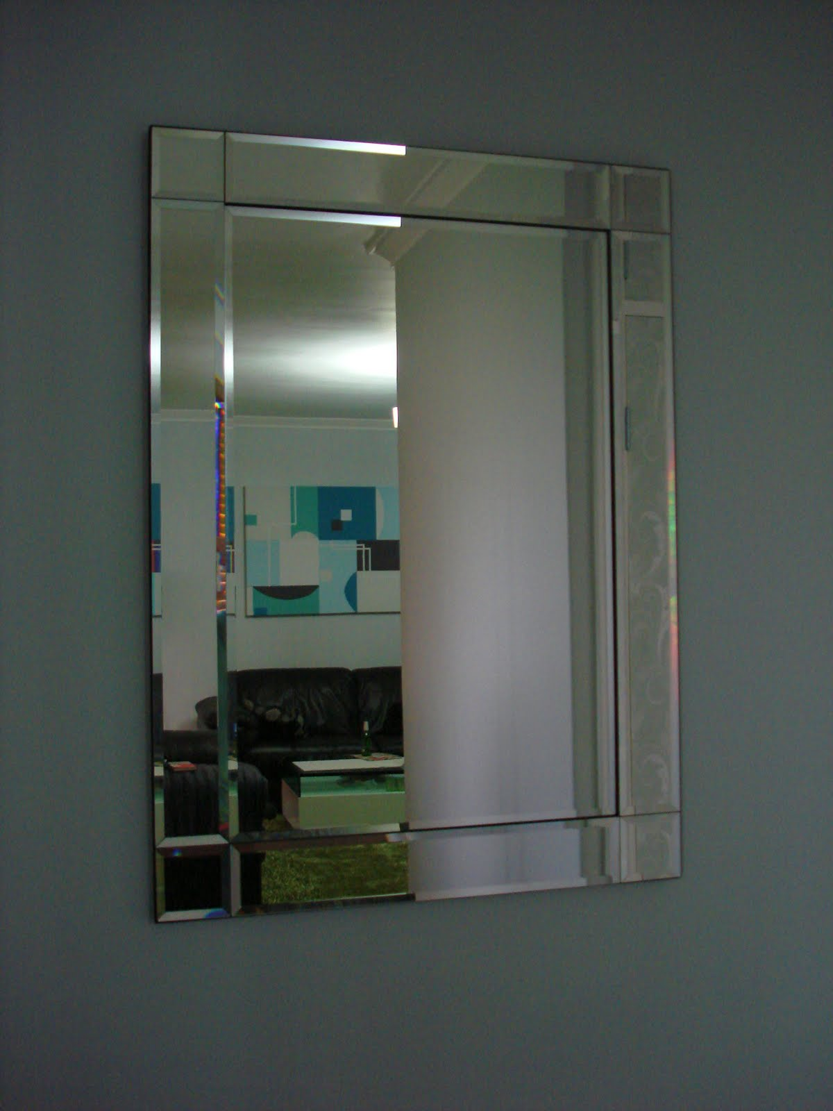 Jarrah Jungle Hallway Mirror