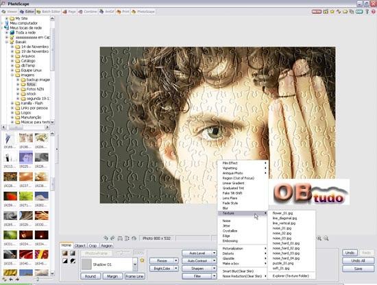 Photo Scape Passo a Passo, Editando imagem no Photo Scape