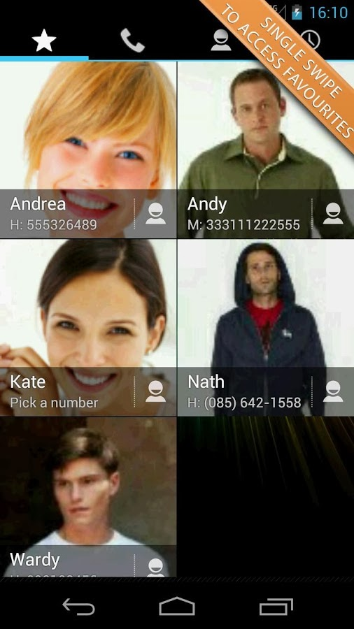 Swipe Dialer Pro Android App