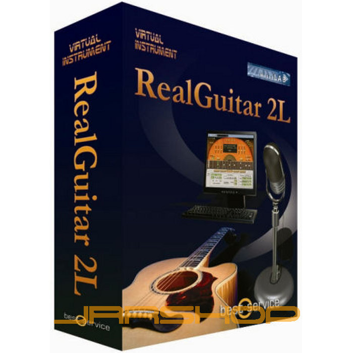 Musiclab realguitar 2l with key and 2.1 updater for mac osx