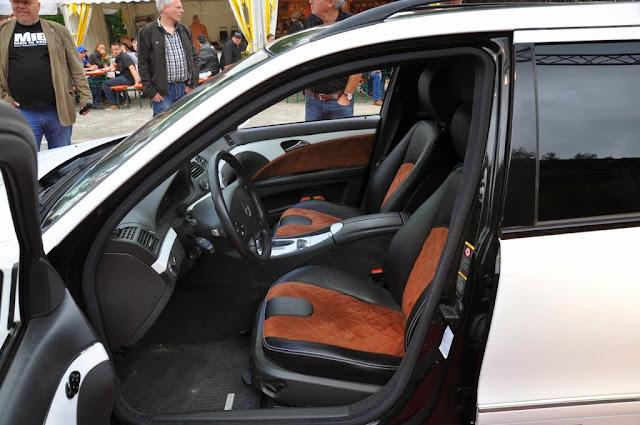 mercedes s211 interior