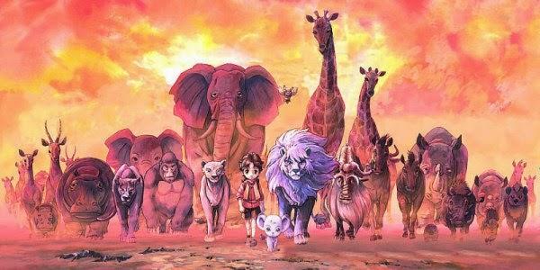 Película Animada: Kimba, el Emperador de la Selva.