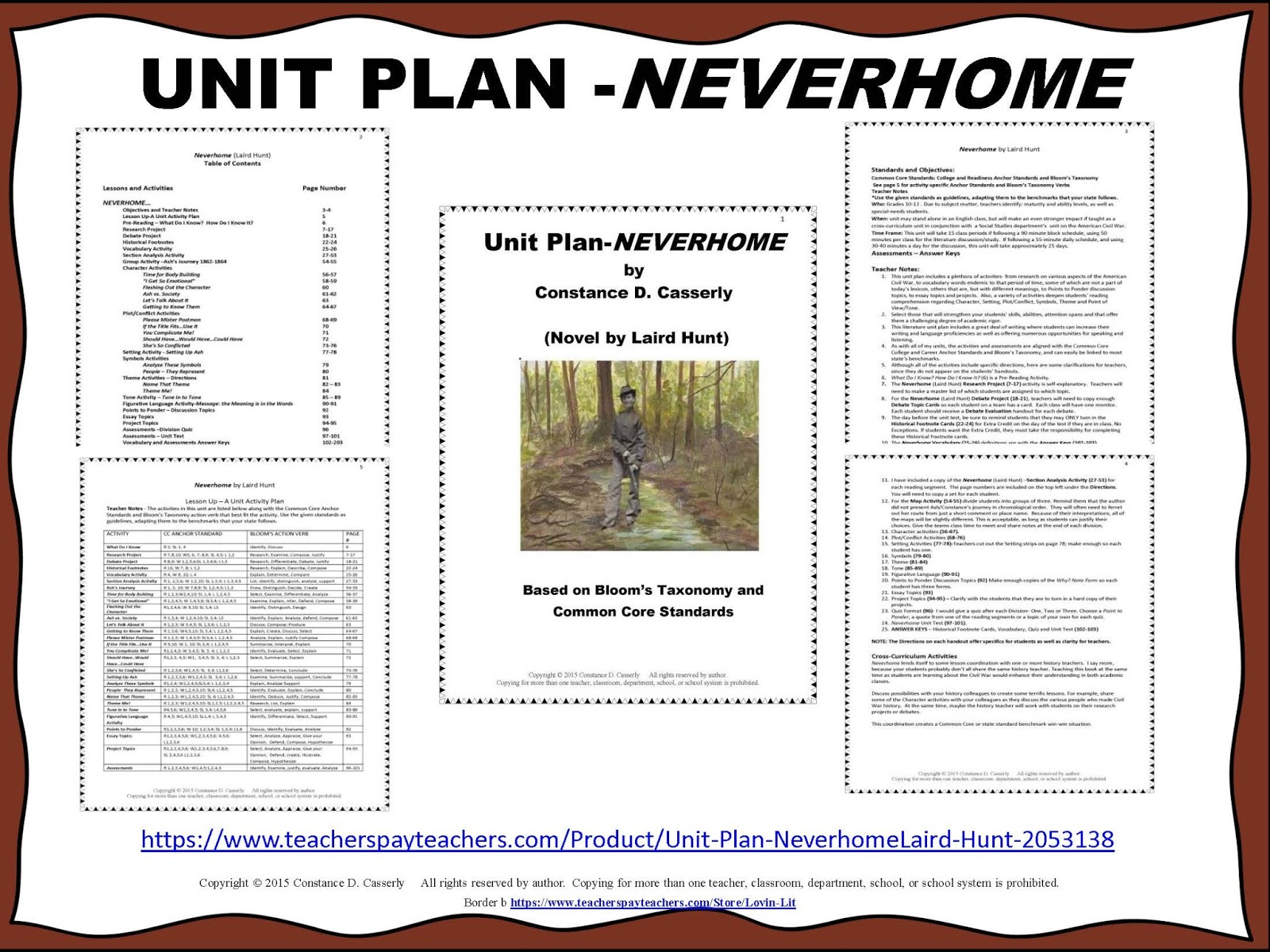 how to write a quick unit plan