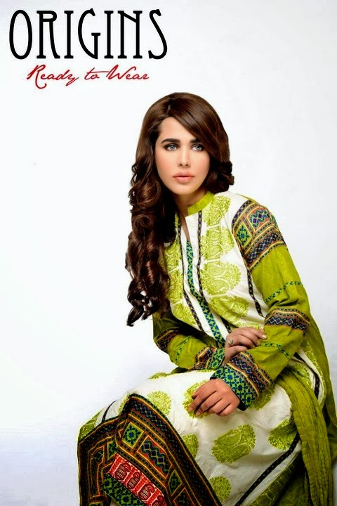 Origins Ready to Wear Spring Lawn Collection