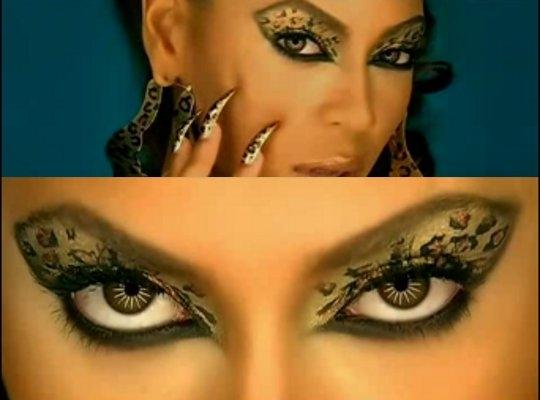 Pois é eu me inspirei nesse clipe e fiz uma maquiagem como a da