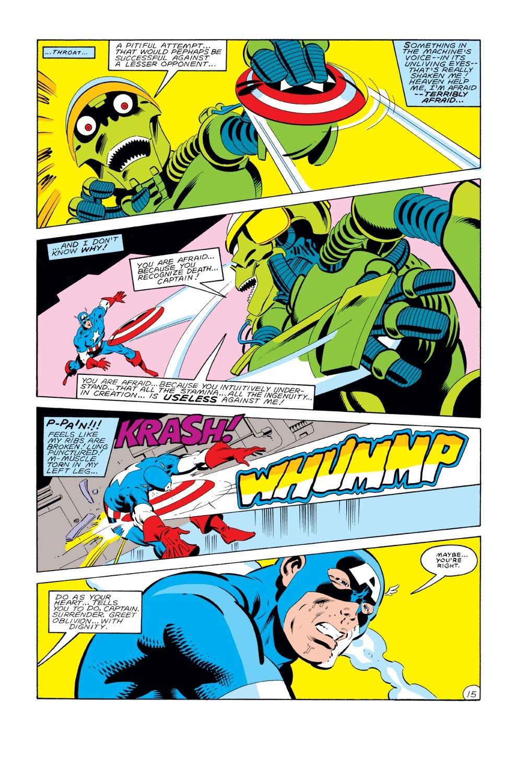 Captain America (1968) Issue #289 #205 - English 16