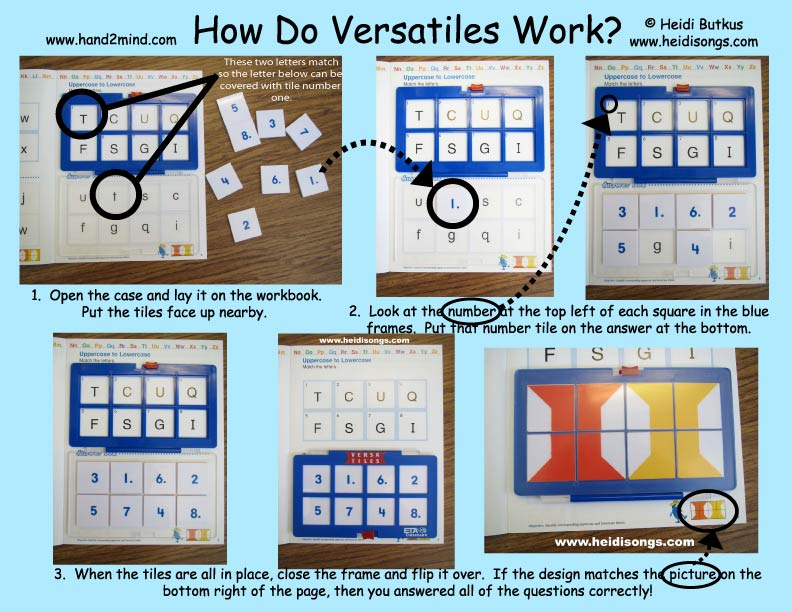 Versatiles Make a GREAT Independent Center – Sharon Wells Math Worksheets