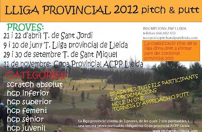 Lliga provincial de Pitch & Putt Lleida