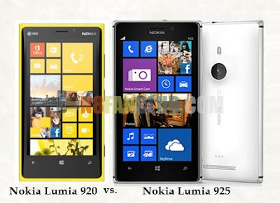 Nokia Lumia 920 vs. Nokia Lumia 925