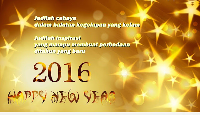 gambar wallpaper ucapan selamat tahun baru 2016