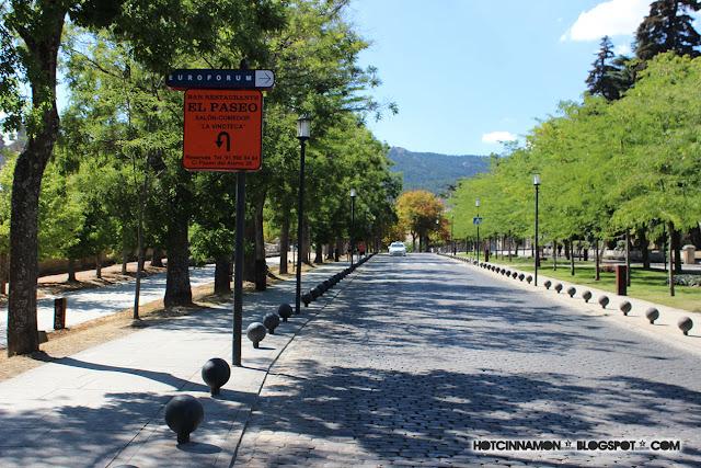 calle piedras San Lorenzo del Escorial