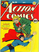 Action Comics #64 comic cover