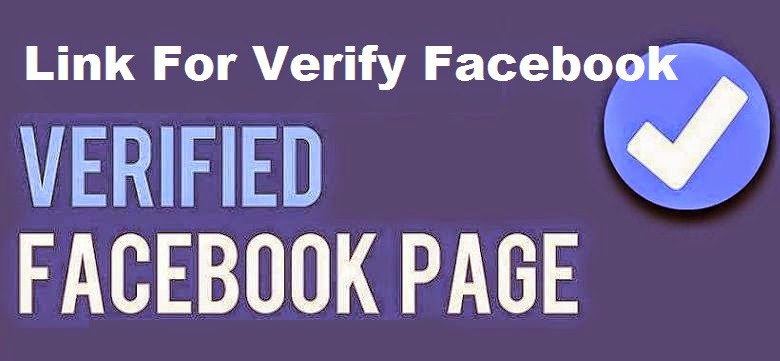Link For Verify Facebook Page for Get Logo Working official image photo