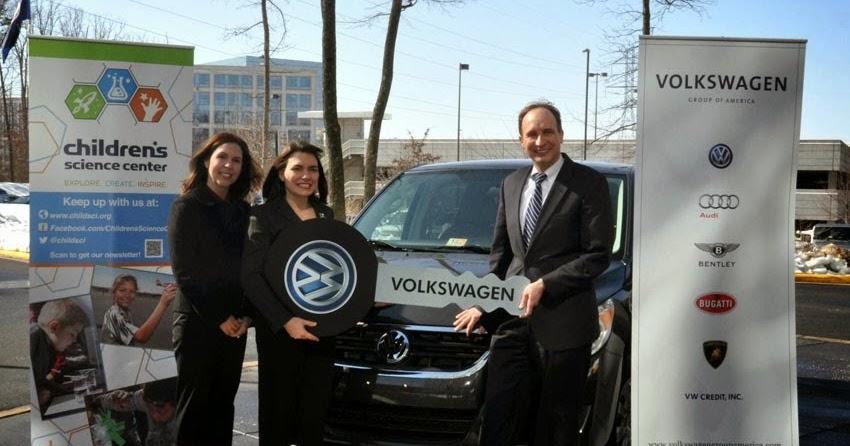 volkswagen donates routan  virginia childrens science center ngoupdatecom