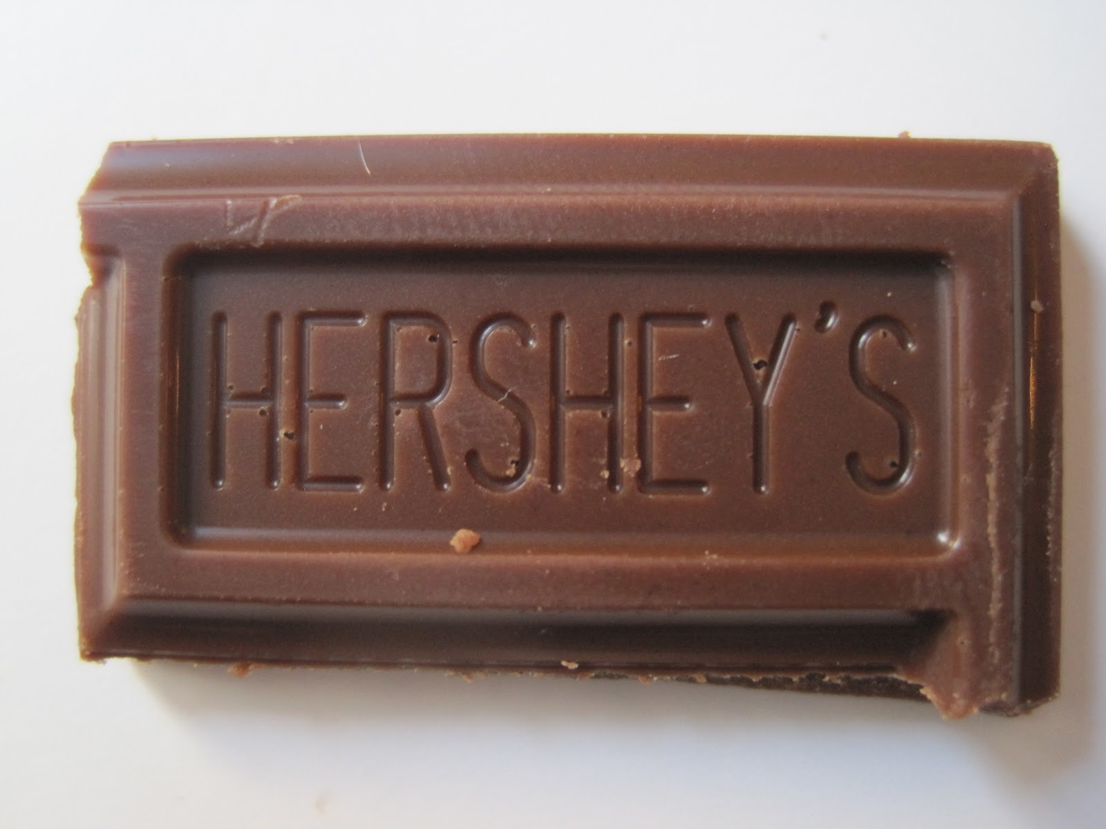 Walking The Candy Aisle: Hershey's Milk Chocolate review