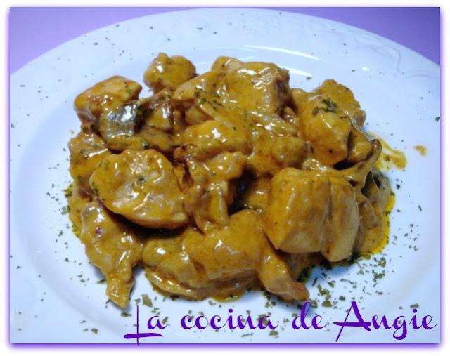 Pollo Con Nata Al Oporto