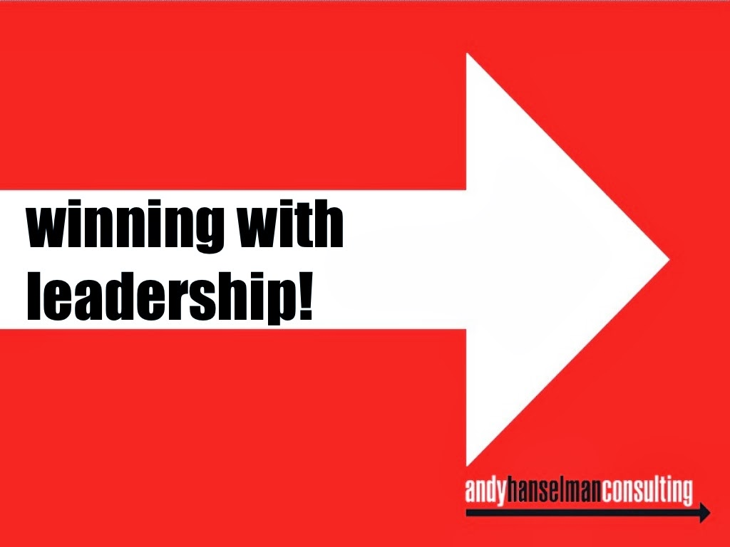 Winning with Leadership ppt