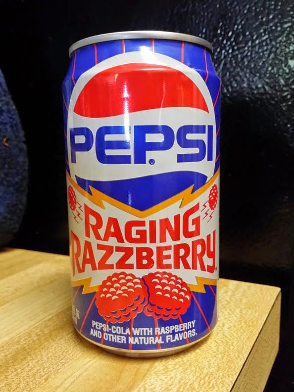 Raging Razzberry Pepsi