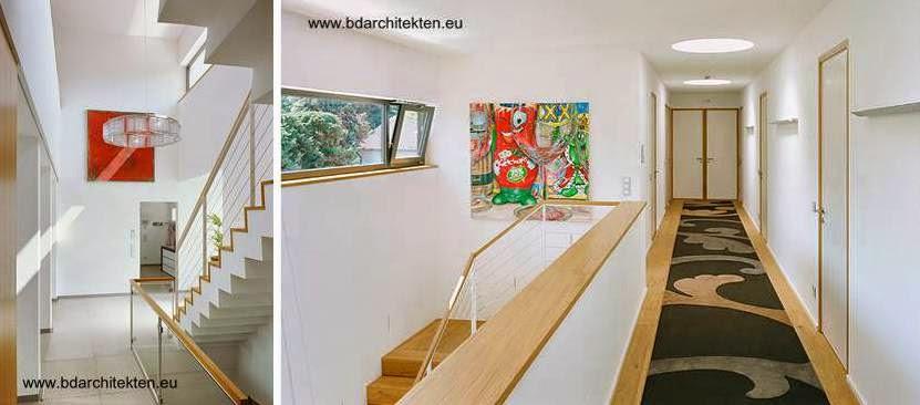 Interior de casa contemporánea alemana luego de su reforma