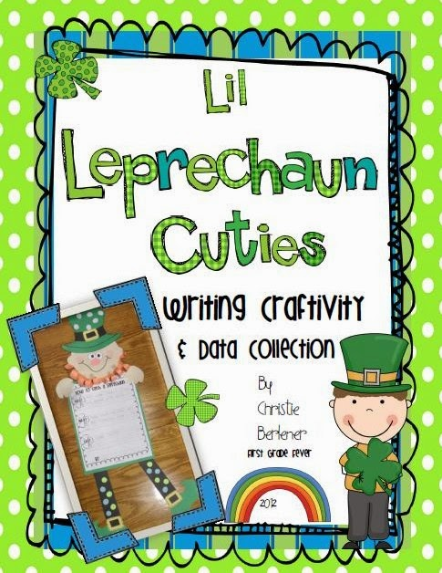 http://www.teacherspayteachers.com/Product/Lil-Leprechaun-Cuties-Writing-Craftivity-Data-Collection-212621