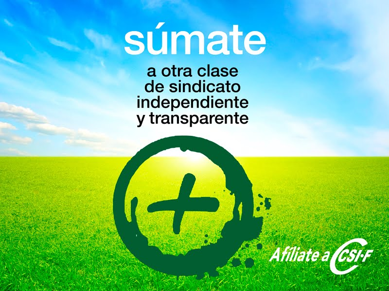 SÚMATE A CSIF