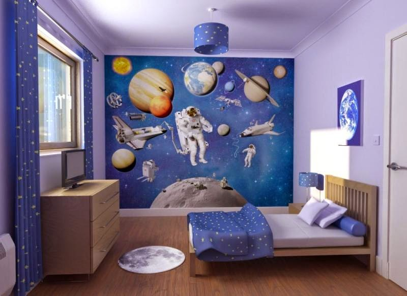 desain interior kamar tidur anak laki-laki