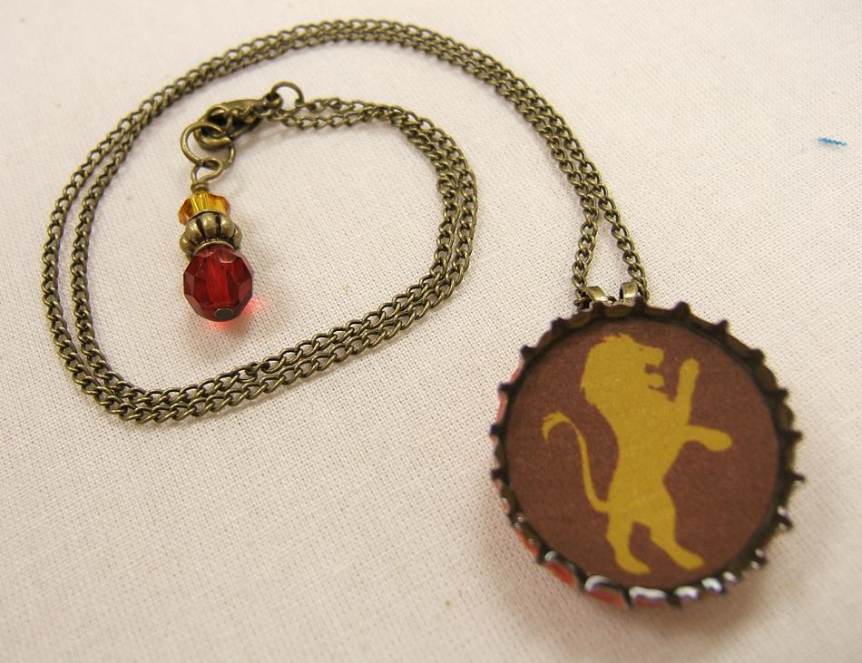 Resin Post Caps : The quilt list resin bottle cap pendants