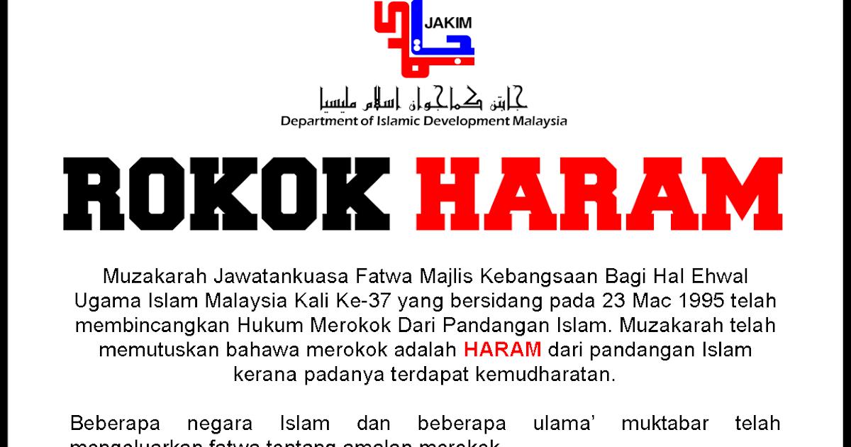 jika merokok itu makruh pena minangMajlis Fatwa Kebangsaan Haramkan #8