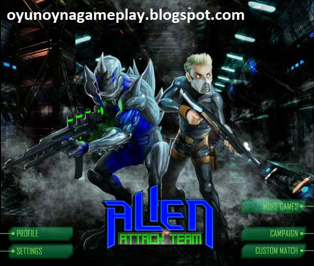 Alien attack team ^ play the Game