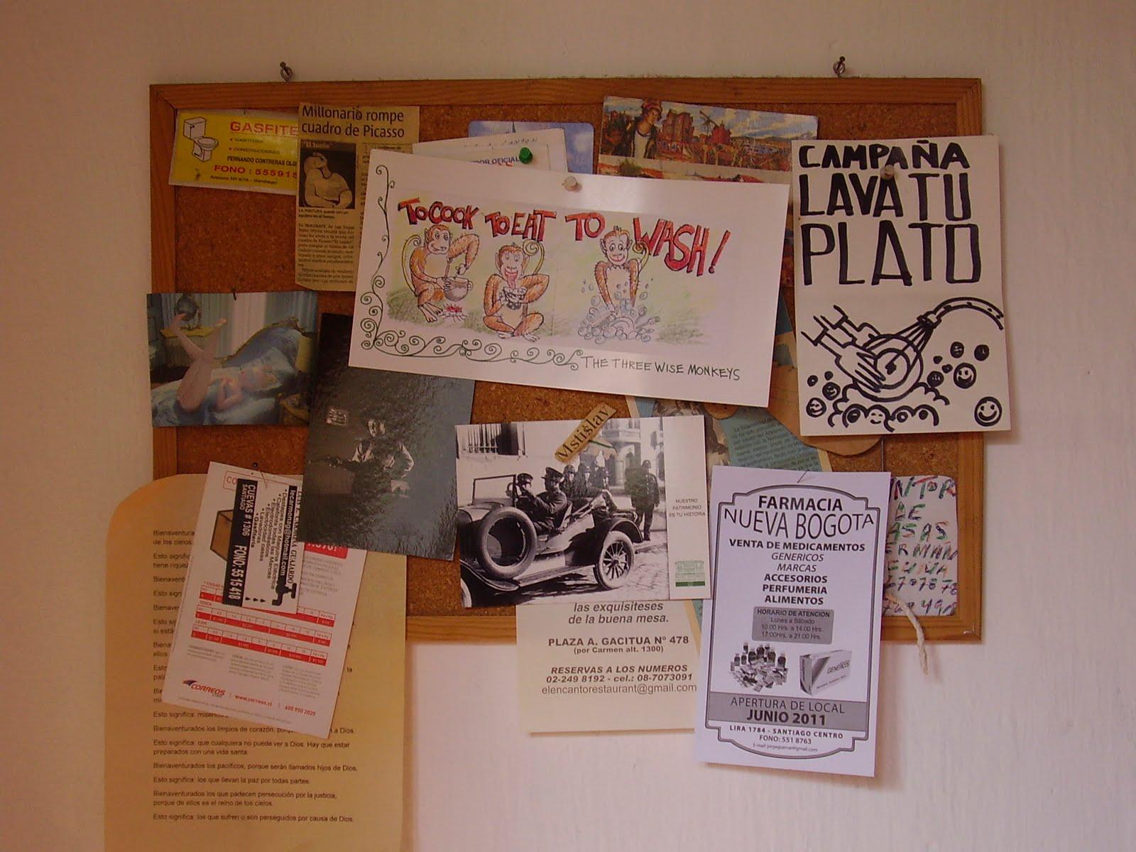 Mi mano de yeso diario mural y letreros for Como organizar un periodico mural