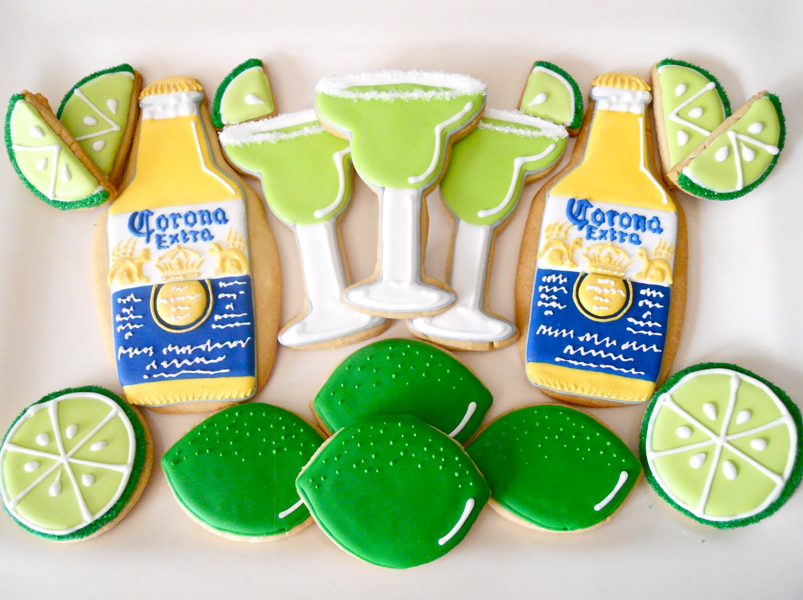 Oh Sugar Events: Margaritaville Cookies