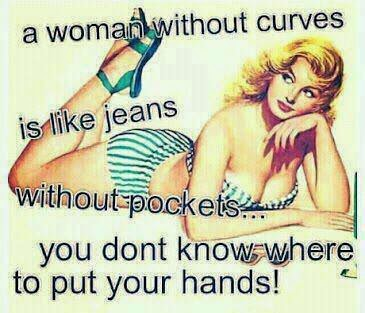 Beautiful Women Have Curves