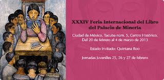 34 Feria Internacional del Libro del Palacio de Minería