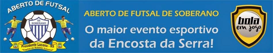 Aberto de Futsal do Soberano