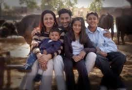 harbhajan mann family pics harbhajan mann kids and wife photos