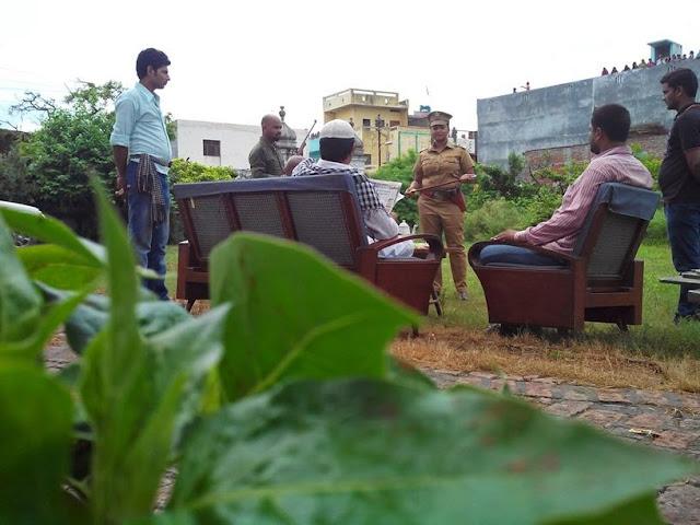 Rani chatterjee Shooting of  Bhojpuri Movie Rani Ki Hukumat Pictures