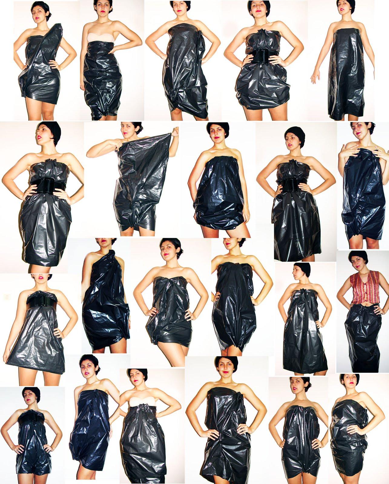 Платья своими руками из мешков
