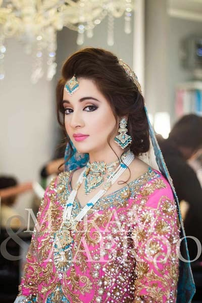 Pakistani bridal makeup artist