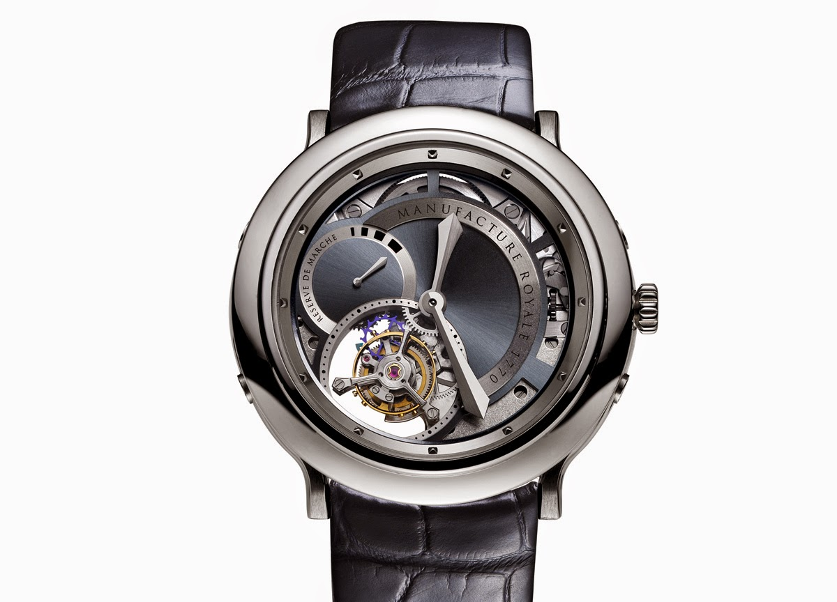 Manufacture Royale - 1770 Openworked Steel