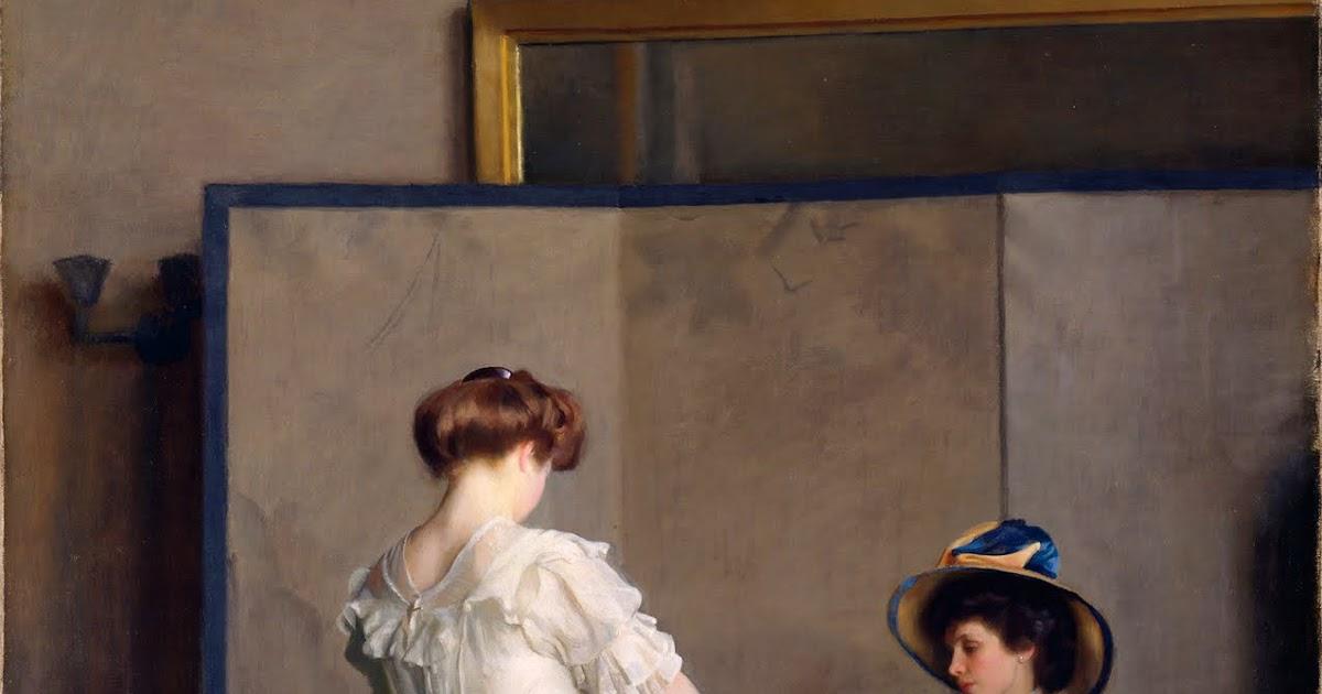19th century American Paintings: William McGregor Paxton, ctd