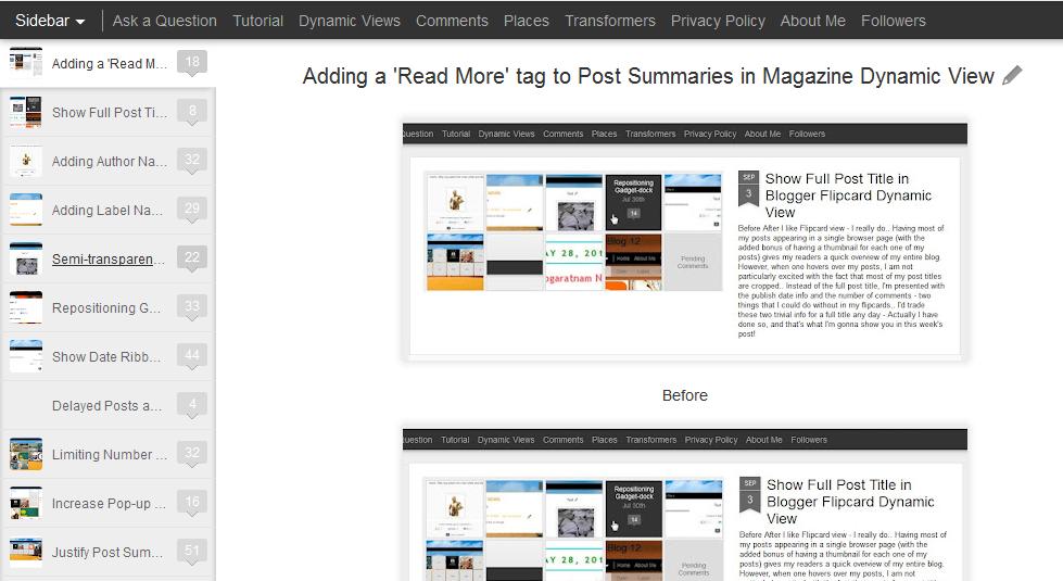 Dynamic tweak scroll bar for sidebar posts in blogger dynamic views scroll bar for sidebar posts in blogger dynamic views template maxwellsz